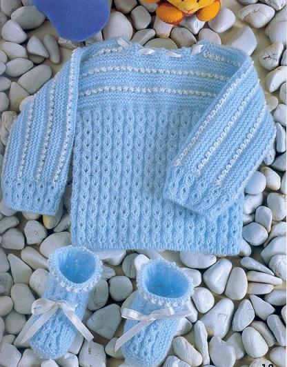 вязание для новорожденных.схемы