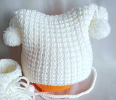 Вязание спицами для самых маленьких своими руками